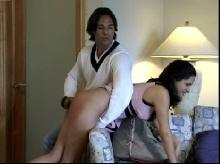 Spanking Videos - Another trip over his knee