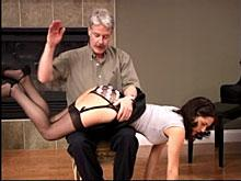 Apprehensive about this spanking