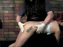 over his knee - the anticipation of a spanking