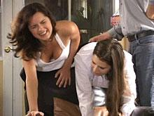 Spanking Videos - Side by Side they are Spanked