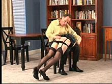 He's had enough - she's about to get a spanking