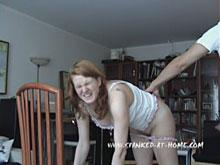 Spanking - Her bottom is getting sore