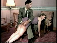 Spanking Videos - He puts her over his knee