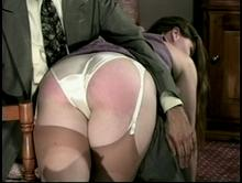 Spanking Videos - Her bottom is getting redder