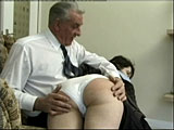 The spanking starts