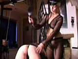 she gives her slave a loving but severe punishment