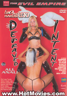 Euro Angels Hardball 10:  Depraved Intent Box Cover