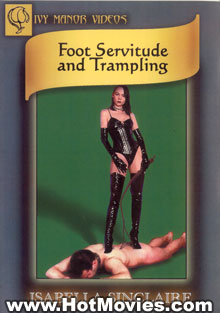 Foot Servitude And Trampling Box Cover