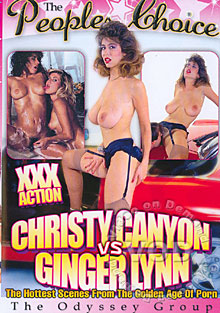 The Peoples Choice: Christy Canyon vs Ginger Lynn Box Cover