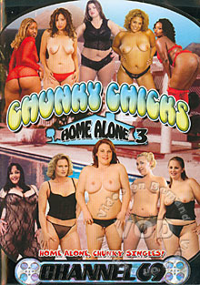 Chunky Chicks Home Alone 3 Box Cover