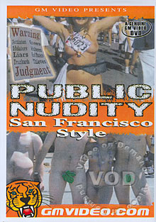 Public Nudity San Francisco Style Box Cover