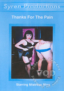 Thanks For The Pain Box Cover