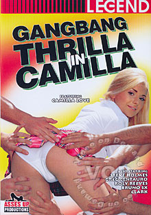Gangbang Thrilla In Camilla Box Cover