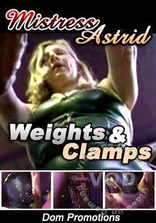 Weights & Clamps - Mistress Astrid Box Cover