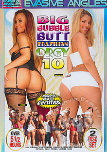 Big Bubble Butt Brazilian Orgy 10 Box Cover
