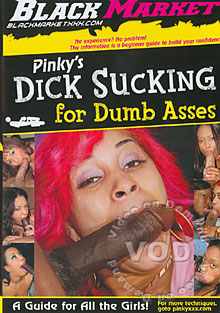 Pinky's Dick Sucking For Dumb Asses Box Cover