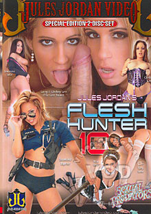 Flesh Hunter 10 Box Cover