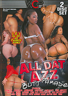 All Dat Azz - Butt Parade Box Cover