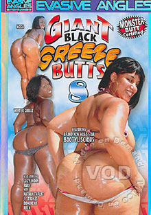 Giant Black Greeze Butts 8 Box Cover