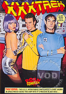 XXX Trek Box Cover