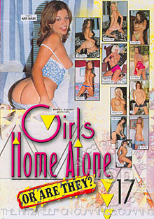 Girls Home Alone 17 Box Cover