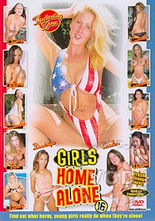 Girls Home Alone 16 Box Cover