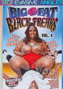 Big-Um-Fat Black Freaks Vol. 4 Box Cover