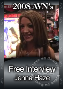 2008 AVN Interview - Jenna Haze Box Cover