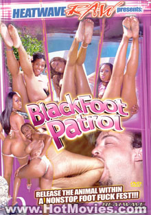 Black Foot Patrol Box Cover