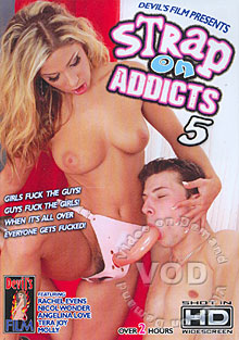Strap On Addicts 5 Box Cover