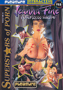 Superstars Of Porn Volume 8 - Jeanna Fine Box Cover