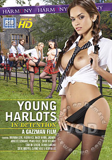 Young Harlots Riding School Box Cover