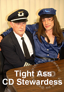 Tight Ass CD Stewardess Box Cover