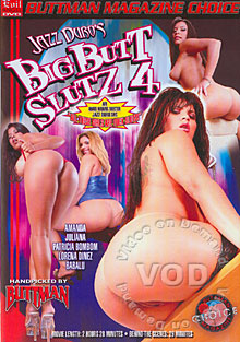 Big Butt Slutz 4 Box Cover