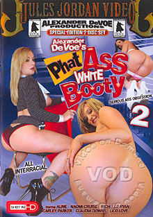 Phat Ass White Booty 2 Box Cover