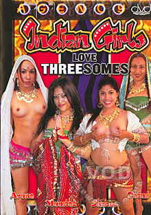 Indian Girls Love Threesomes Box Cover