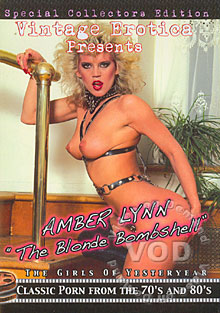 Amber Lynn - The Blonde Bombshell Box Cover