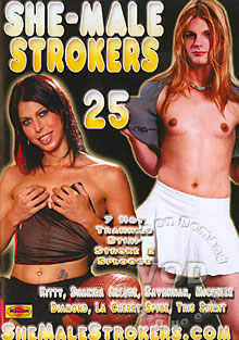 She-Male Strokers 25 Box Cover