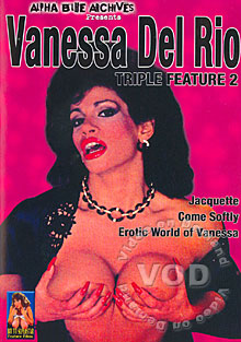 Vanessa Del Rio Triple Feature 2 - Jacquette Box Cover