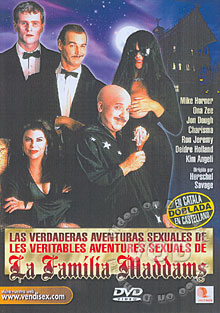 Las Verdaderas Aventuras Sexuales De La Familia Maddams Box Cover