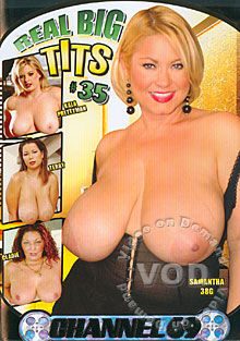 Real Big Tits #35 Box Cover