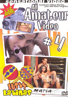 All Amateur Video #4 - Lusty Latinas Box Cover