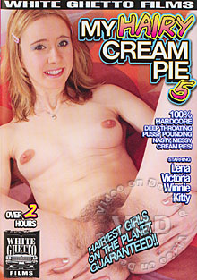 My Hairy Cream Pie 5 Box Cover