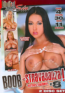 Boob-Stravaganza! #8  (Disc 1) Box Cover