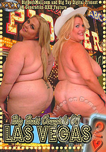 Big Butt Cowgirls Of Las Vegas 2 Box Cover