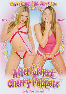 After School Cherry Poppers Box Cover