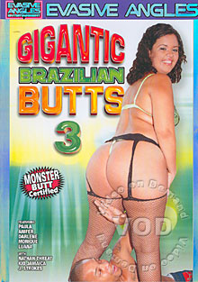 Gigantic Brazilian Butts 3 Box Cover
