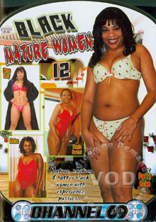 Black Mature Women 12 Box Cover