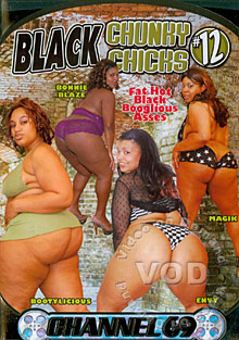Black Chunky Chicks #12 Box Cover