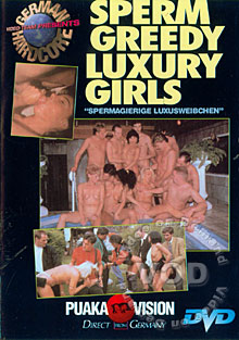 German Hardcore - Sperm Greedy Luxury Girls Box Cover